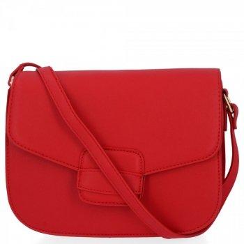Elegantní Dámská Kabelka Listonoška značky Herisson Červená
