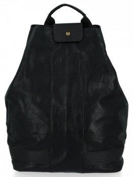 Uniwersalny Plecak Damski XXL firmy Diana&Co Czarny