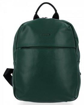 Uniwersalny Plecak Damski XL firmy David Jones Butelkowa Zieleń