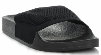 Uniwersalne Klapki Damskie firmy Ideal Shoes Czarne