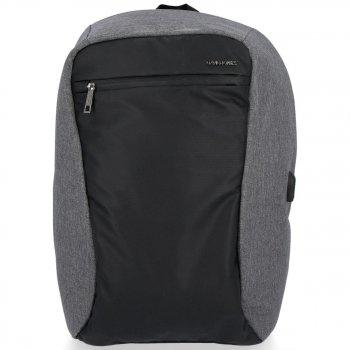 Uniwersalne i Solidne Plecaki Męskie XL marki David Jones Szary