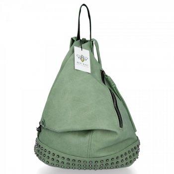 BEE BAG Modny i Uniwersalny Plecak Damski Diana Zielony