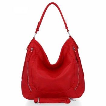 Venere Firenze Uniwersalne Torebki Damskie w rozmiarze XL Czerwona
