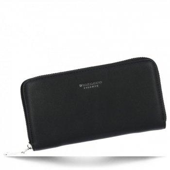 Diana&Co Firmowy Uniwersalny Portfel Damski XL Czarny