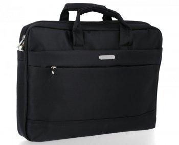 David Jones Firmowe Torby Męskie na laptopa w rozmiarze XL Czarna