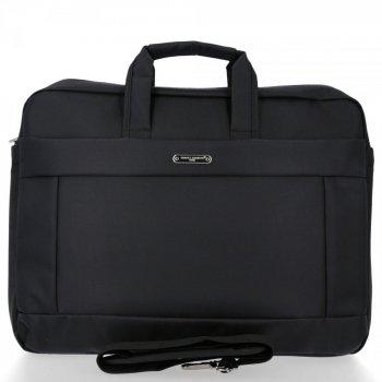 Duża Torba Męska na laptopa firmy David Jones Czarna