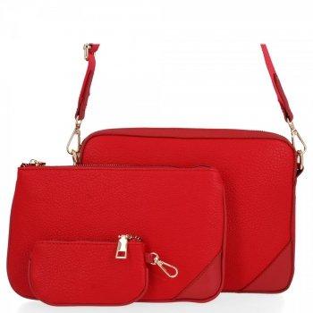 Univerzálne Dámske crossbody tašky od Herisson červený