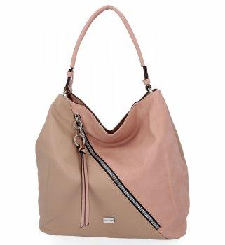 Univerzálne Dámske bežné tašky David Jones ružový