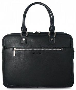 Elegantná Pánska taška na notebook David Jones čierny