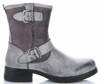 Dámske členkové topánky s prackami značky Lady Glory gray