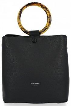 David Jones univerzálna a obchodná taška Dámska príležitostná Čierna