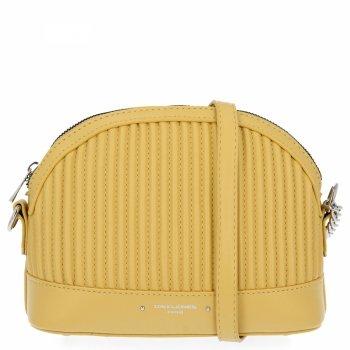 Štýlová dámska taška David Jones žltý