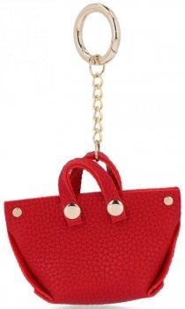 Móda ShopperBag Červená PeŘaženka Keychain