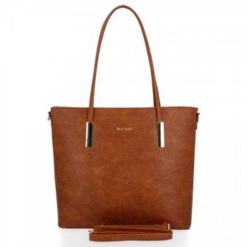 Bee BAG Klasická dámska taška Florence veľkosť M Ruda