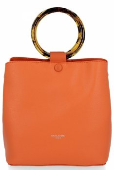 David Jones univerzálna a obchodná taška Dámska príležitostná oranžová