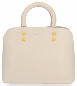 Elegantná dámska taška firemné puzdro svetlo béžové