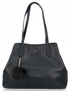 Univerzálne Dámske bežné tašky XXL David Jones čierny