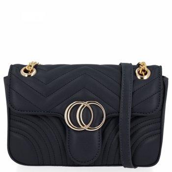 Elegantná dámska taška na messenger pre všetky príležitosti od Herisson čierny