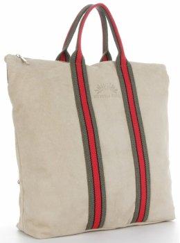 Vittoria Gotti módne pruhované kožené tašky značkové shopper vyrobené v Taliansku s funkciou batohu bez