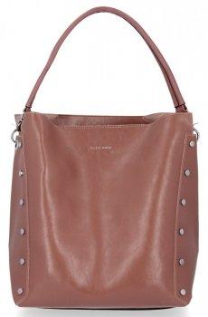 Módne a všestranné dámske tašky s kozmetickou taškou od Silvia Rosa ružový