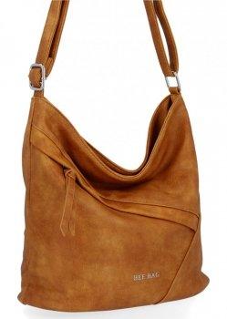 BEE Bag univerzálne Dámske tašky poštári Lauren svetlo červená