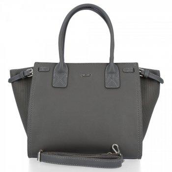 David Jones Firemná Klasická dámska taška Tmavo šedá