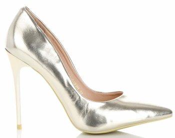 Klasické dámske ihlové topánky Bellucci zloty