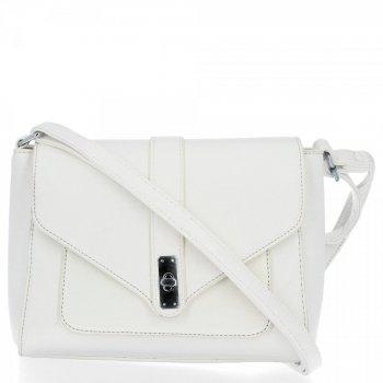 BEE BAG Klasické dámske Crossbody tašky Maria Biela