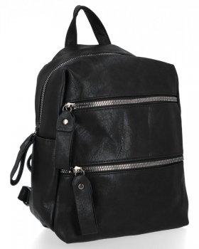 BEE BAG módne ženy batohy Jennifer čierny