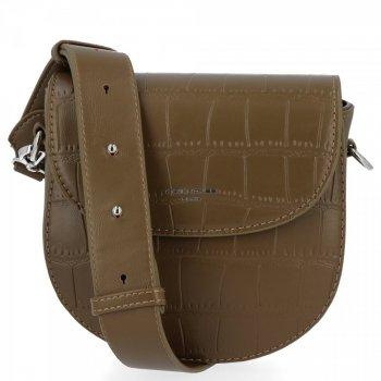 David Jones elegantné dámske tašky messenger v khaki