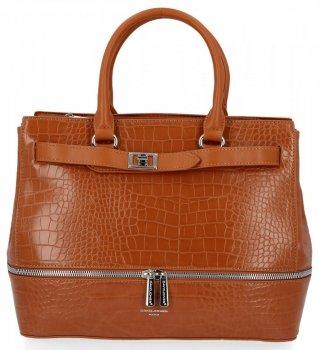 Elegantná dámska taška so zvieracím vzorom David Jones Ryšavka
