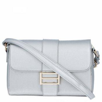 Herisson Corporate Bag Dámske elegantné Messenger Bag Silver