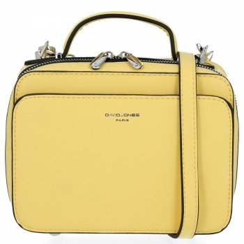 Elegantné Dámske malé tašky David Jones Limonku