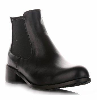 Klasické Kožené Členkové Topánky Pre Ženy Alexio Giorgio Čierne