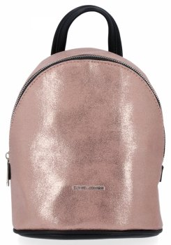 Módny dámsky batoh David Jones ružový