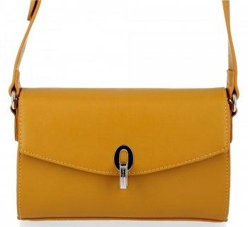 David Jones Značková dámska taška Elegantná taška Messenger pre všetky príležitosti Žltá