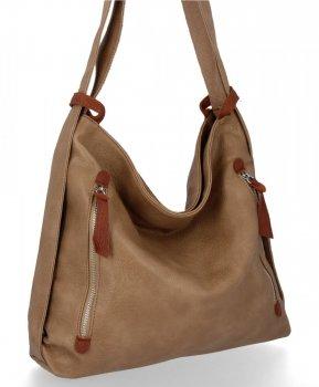 Bee Bag univerzálna dámska XL taška s funkciou batohu Layla Earthista