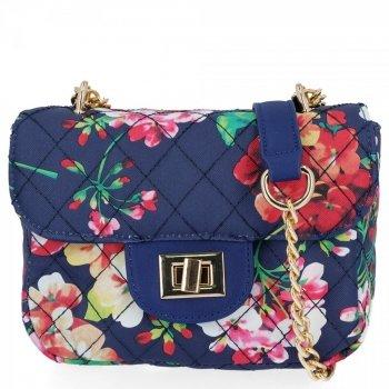 Módna dámska taška na posol Herisson Flower Granite
