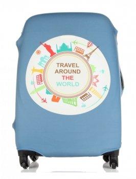 Snowball kufor prípad veľkosť M cestovať po celom svete Modrá