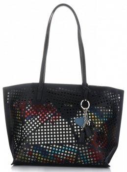 Univerzálne Otvorené Dámske tašky s čiernou kozmetickou taškou David Jones