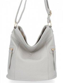 BEE Bag univerzálne Dámske tašky veľké tašky Ivy Svetlo šedá