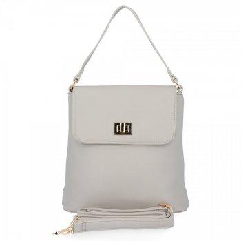 Elegantné dámske tašky messenger pre všetky príležitosti od Herisson svetlo šedá