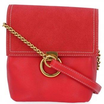 Značkové dámske tašky na Messenger David Jones červený