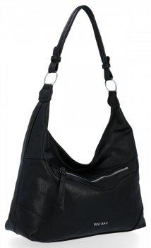 BEE BAG univerzálne dámske ležérne tašky Laida čierne