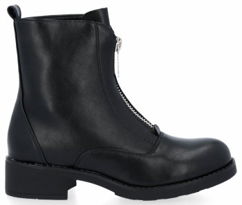 Čierne univerzálne Módne Dámske členkové topánky Noah
