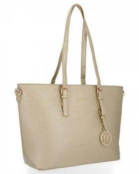 Bee BAG Klasická dámska taška XL Isla musí mať zlotý