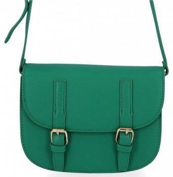 Univerzálna dámska taška cez rameno v štýle vintage Herisson Dragon zelený