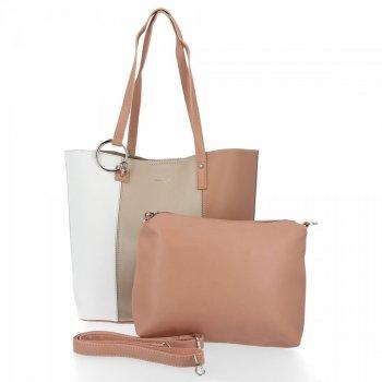 David Jones módne Ženy tašky nastaviť 2v1 kupujúci s zlotý poštár