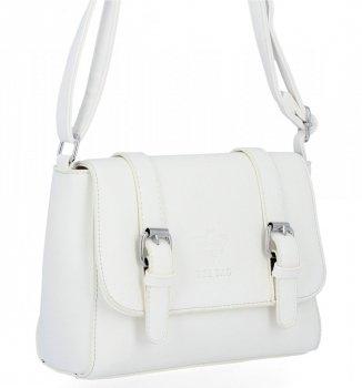 BEE BAG Dámska Crossbody taška Vintage Taška cez rameno Biela