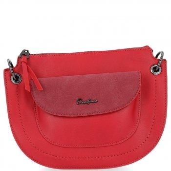 Originálna dámska taška David Jones Fashion Messenger Bag červený
